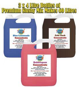 3-x-4-Litre-Premium-Slushie-Mix-Slushy-Syrup-Frozen-Slush-Machine-Snow-Cone-SY