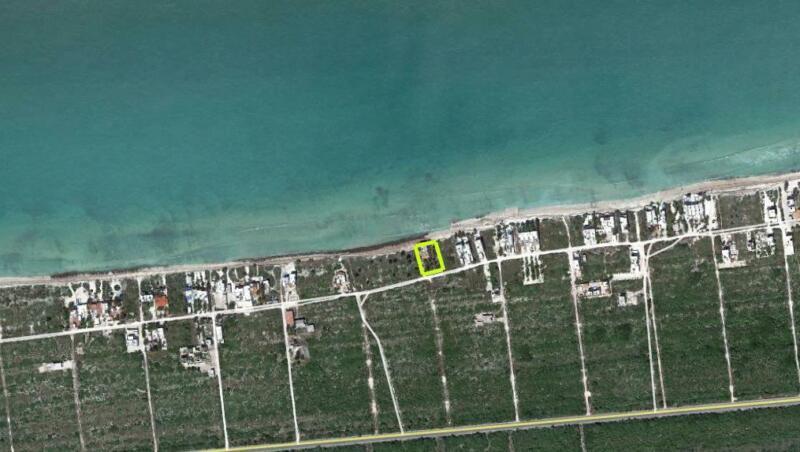 Terreno venta en Yucatan, frente al mar en San Benito KM22.3