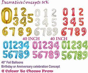 40-034-numero-gigante-foil-aria-elio-Glitz-grandi-PALLONCINI-Festa-Di-Compleanno-Matrimonio