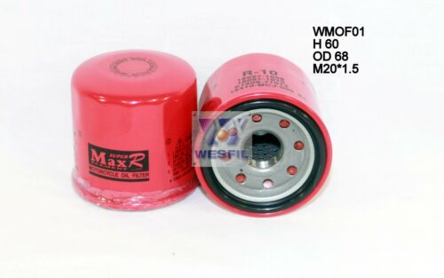 FZ8S 2010-2014 WMOF01 WESFIL OIL FILTER FOR Motorcycle Oil Filters YAMAHA FZ8N
