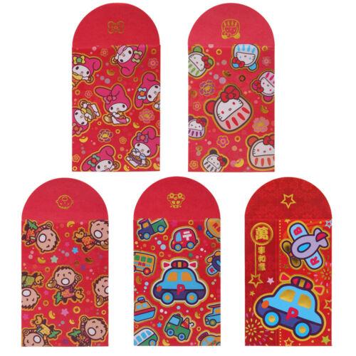 SANRIO KITTY//TWIN STAR//RB//POCHHACOO PRINT LUNAR YEAR RED POCKET// ENVELOP 14100