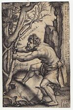 Hans Sebald Beham, Das Unmögliche / Impossibile, Kupferstich, 1549