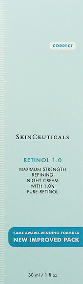 Skinceuticals Retinol 1.0 Improved Tube Container 30ml(1oz) Anti Aging BRAND NEW