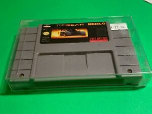 WORKING-SUPER-NINTENDO-SNES-GAME-CARTRIDGE-KEMCO-TOP-GEAR-RACING