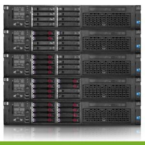 HP Proliant DL380 G7 Server 2x E5520 2.26GHz = 8 Core 48GB 4x 300GB P410i DVD