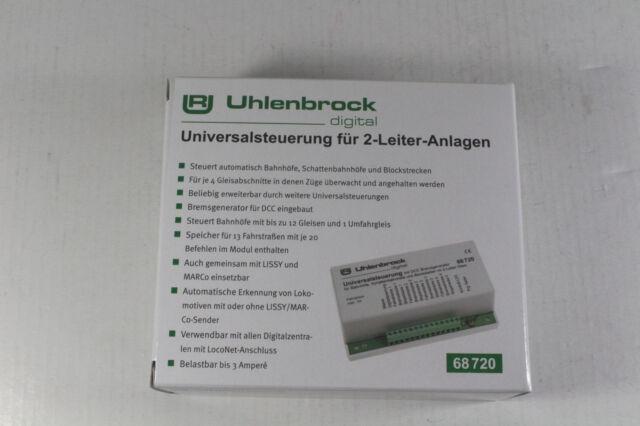 Uhlenbrock 68720 Universalsteuerung 2-Leiter Gleis  #NEU in OVP#