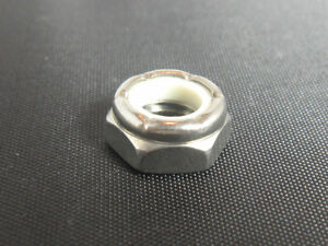 2 3//8-24 Nylon Insert Lock Nut Thin Short nuts 3//8x24 Half thick Jam