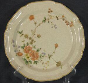 Mikasa-Garden-Club-Silk-Bouquet-EC463-Dinner-Plates-Flowers-Floral
