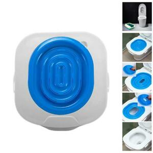 Plastic-Cat-Toilet-Training-Kit-Litter-Tray-Box-Trainer-Pet-Cleaning-Supply-Blue