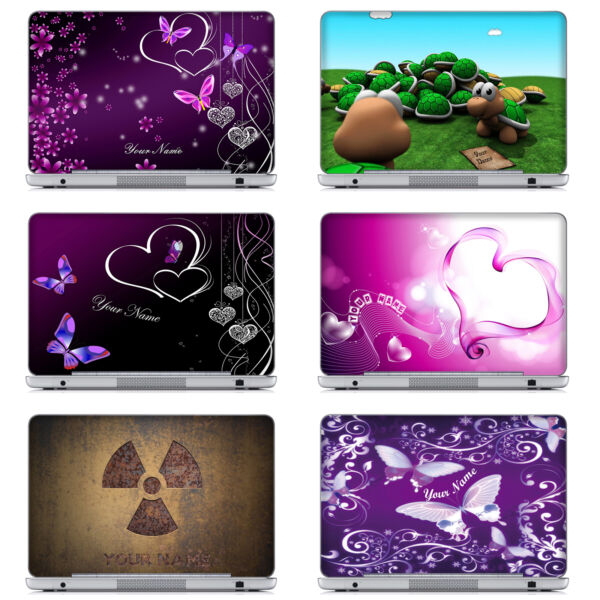 2019 High Quality Customized Laptop Computer Skin Sticker With Your Name