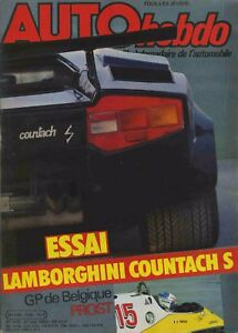 AUTO-HEBDO-n-370-27-05-1983-GP-BELGIQUE-LAMBORGHINI-COUNTACH-S