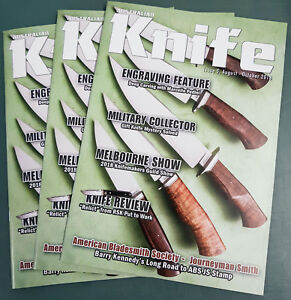 Australian Knife Magazine Issue 5, Aug - Oct 2018