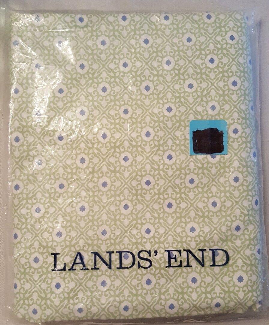 Lands End Home 100% Cotton 200 Ct Sheet Set Extra Long Twin XL