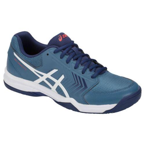 E707y 5 Asics Dedicate Da Scarpe 400 E Tennis Bianco Uomo Azzurro Gel YAWvq