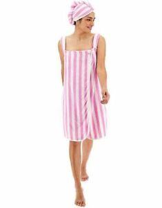 PRETTY-SECRETS-Strapped-Towel-Wrap-with-Turban-UK-12-14-EU-40-42-CC61-2