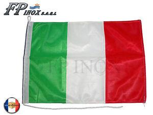 Pavillon Italie ( Drapeau ) 45x32cm / Bandiera italiana