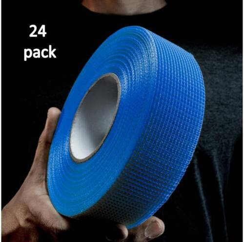 "Blue 2/"" x 300/' 24 pack Surface Shields PATCH PRO Fiberglass Mesh Drywall Tape"