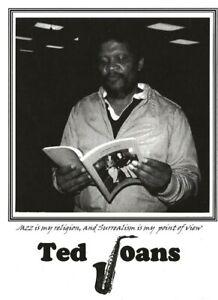 TED-JOANS-JAZZ-POET-1984-BEAT-WRITERS-PHOTO-POSTCARD-95