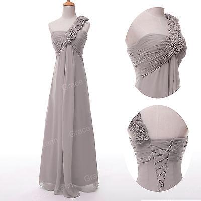 Une épaule longue de bal Robe de bal Soirée Cocktail Robes demoiselle d'honneur