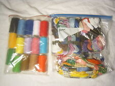 Floss Assortment skein mix lot skeins thread cotton sewing sew thread embroidery