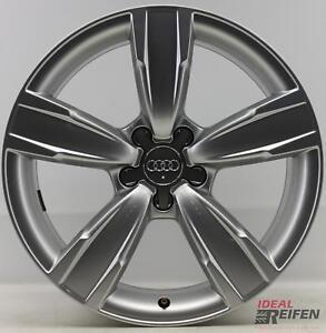 4-Audi-A5-S5-F5-B9-18-Zoll-Alufelgen-Original-Audi-A4-Felgen-8KBM-S