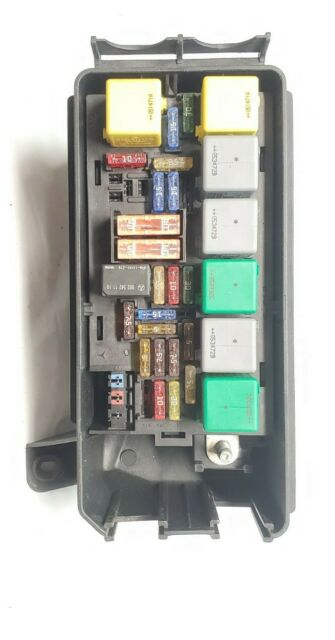 2006 07 08 Mercedes Ml350 Fuse Relay Box W  Cover Oem A1644401505