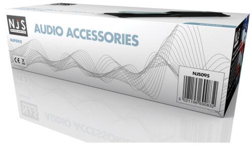 NJS Keyboard Synths Digital Piano Heavy Duty Sustain Pedal Switch 1.8m Lead