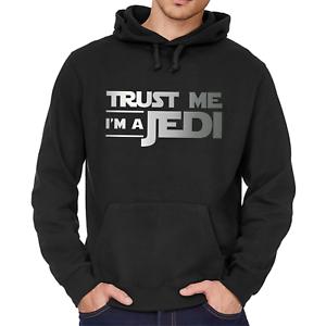 Trust-me-I-039-m-a-Jedi-Star-Wars-Satire-Comedy-Kapuzenpullover-Hoodie-Sweatshirt