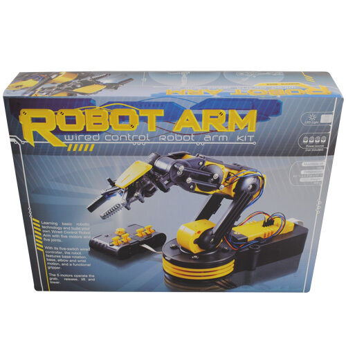 Build Your Own Robotic Arm Kit with RC - GorillaSpoke for Free P&P Ireland & UK