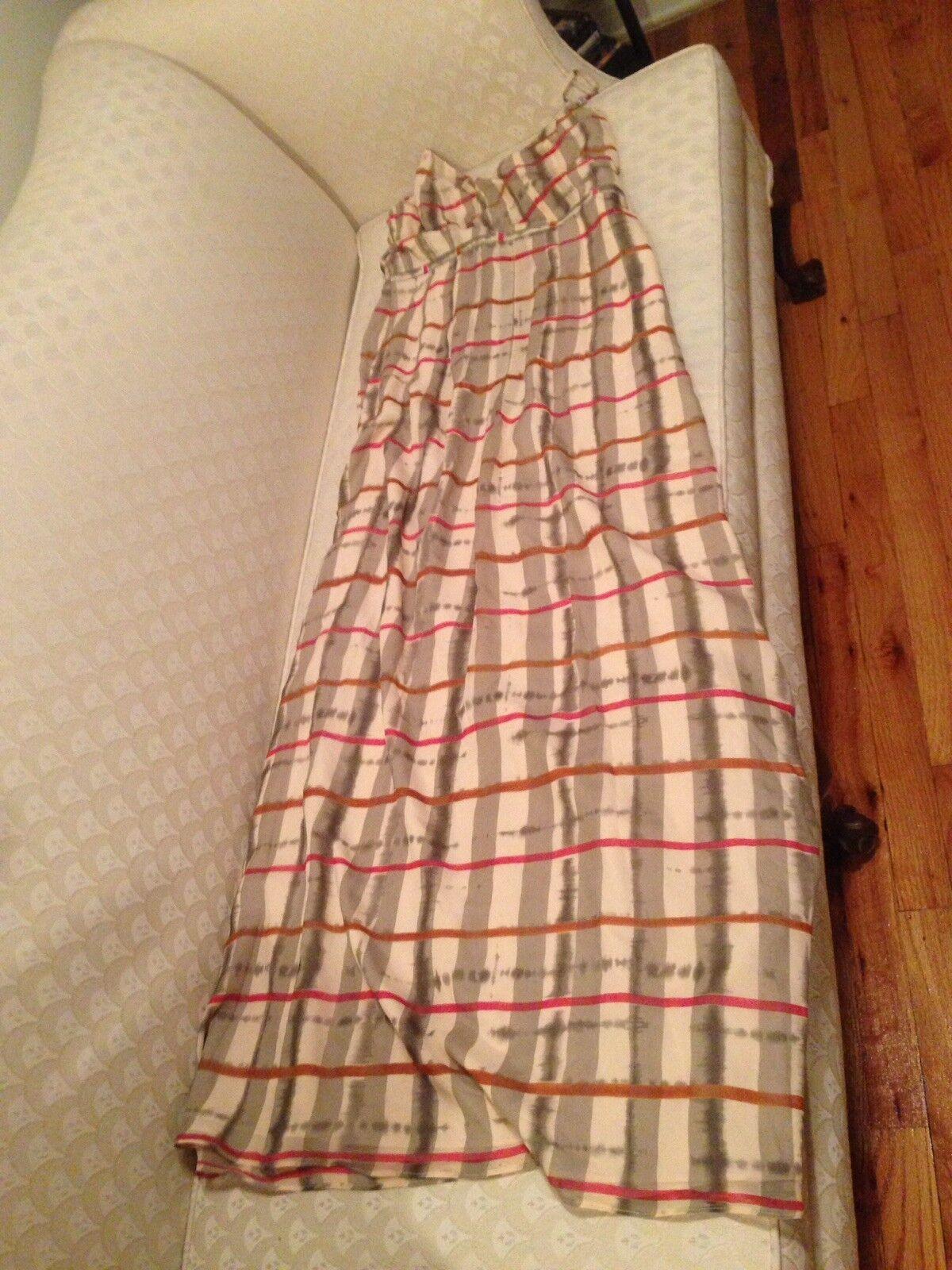 Madewell Silk Maxi Dress, Sz 4