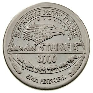 2000 Sturgis Rally & Races 60th Anniversary Commerative Medallion