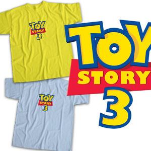 ad277fc41a1f3f Toy Story 3 Pixar Disney Logo Movie Title Mens Womens Kids Unisex ...