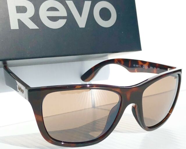 ba52260c8a REVO Otis Tortoise Frame W Polarized Brown Lens Sunglass 1001 12 BR ...