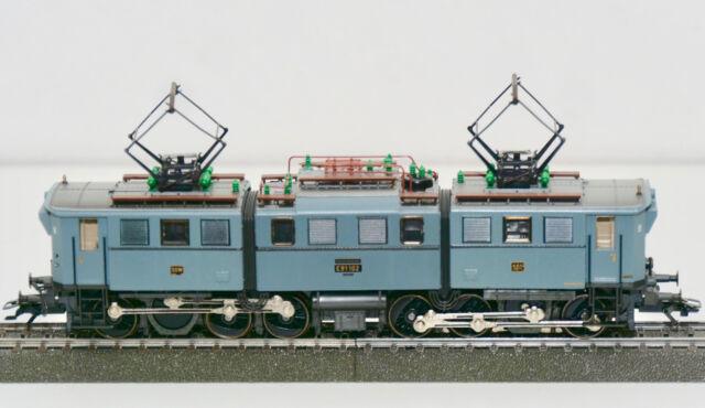 Märklin 3528 E-Lok, BR 191 der DDR, Falschbeschr..:Deut. Bundesbahn, unbespielt