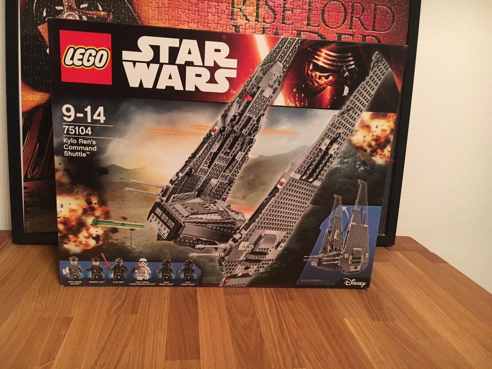 Lego Star Wars 75104-kylo ren's command Shuttle (nuevo en el embalaje original)