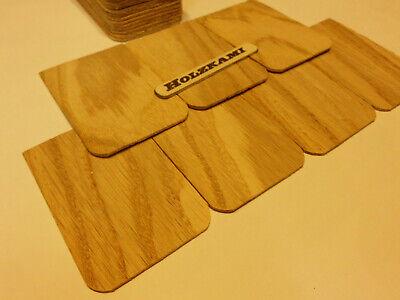 Holzschindeln gespalten Basteln 100 Stück Lärchen-Rundschindeln 30x8cm