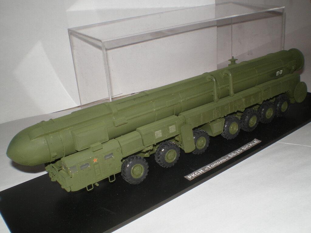 Missile balistique intercontinental hypersonique TOPOL-M (SS-25 SICKLE) SICKLE) SICKLE)  (1/72) bd078c