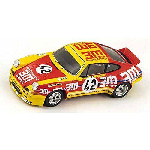Porsche Carrera Rsr  42 17th Lm 1973 R. Mauroy  M. Mignot 1 43 Model SPARK MODEL