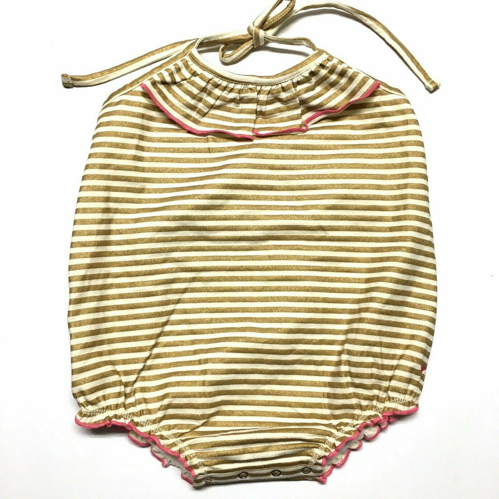 Baby Multicolor-18 Months Zutano Super Stripe Bloomer