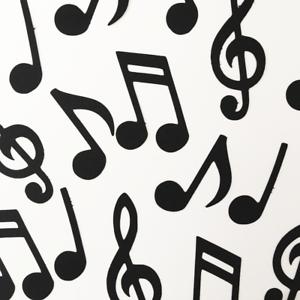 Music Note Birthday Party Craft DIY Decor Confetti