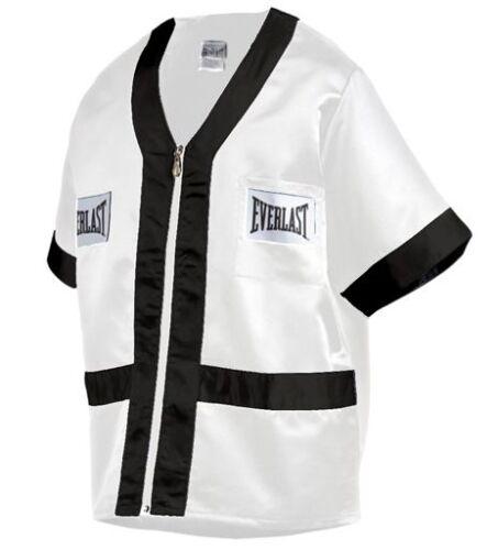 EVERLAST CORNER JACKET White/Black Size Large L Style 4390 >NEW<