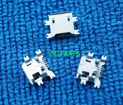 10pcs Micro USB Type B Female 5Pin Socket 4 Legs SMT SMD Soldering Connector