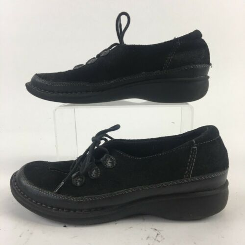 Clarks Womens Sneakers Black 31058 Low Top Lace Up