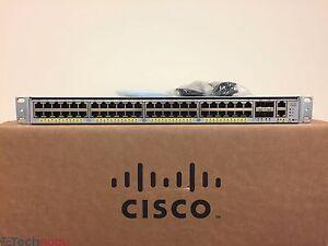 Cisco-WS-C4948E-F-48-Port-Gigabit-4-x-10G-SFP-L3-Switch-Dual-AC-SAME-DAY-SHIP