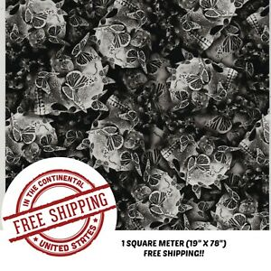 HYDROGRAPHIC WATER TRANSFER HYDRODIPPING FILM HYDRO DIP SILVER BUTTERFLY 1M