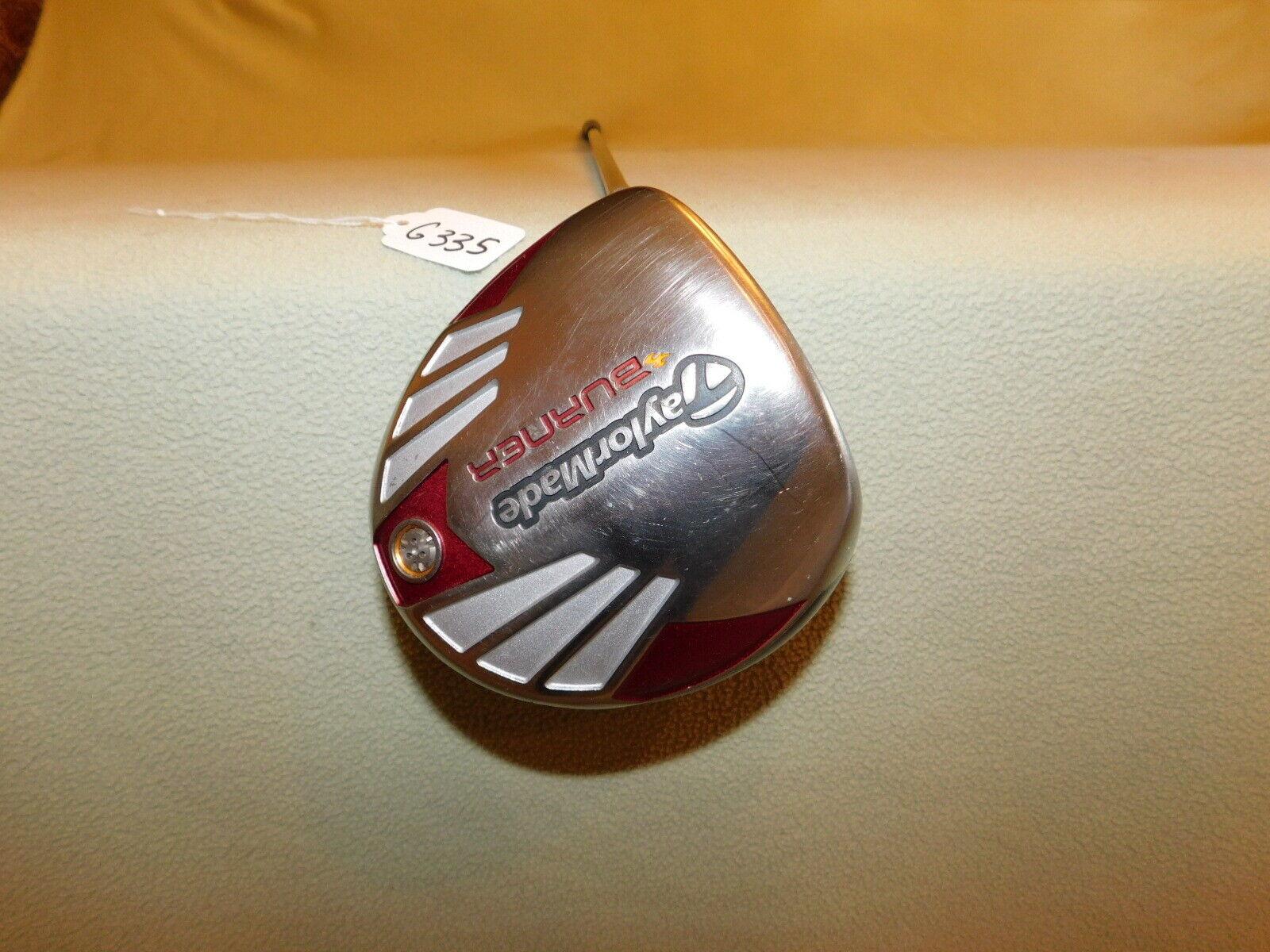 2007 zurdo TAYLOR  MADE QUEMADOR rígido de la flexión 9.5  Driver G335  nueva gama alta exclusiva