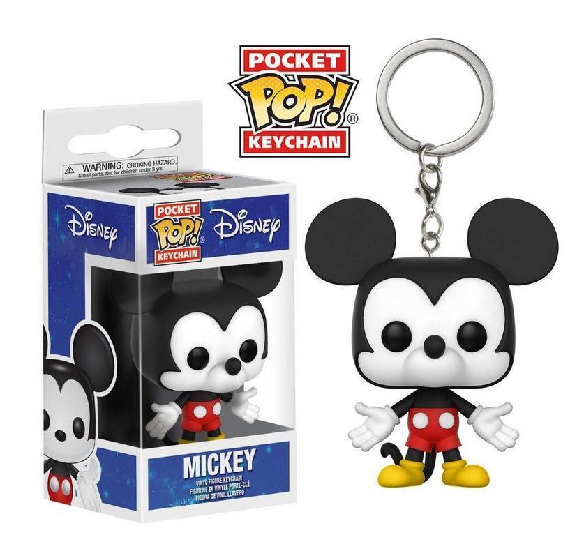 Disney porte-clés Pocket POP Vinyl Mickey Mouse 4 cm keychain 217699
