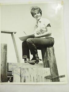 Arlene-Stanley-Walt-Disney-Animator-Dedicace-Photo-20-3cm-x-25-4cm