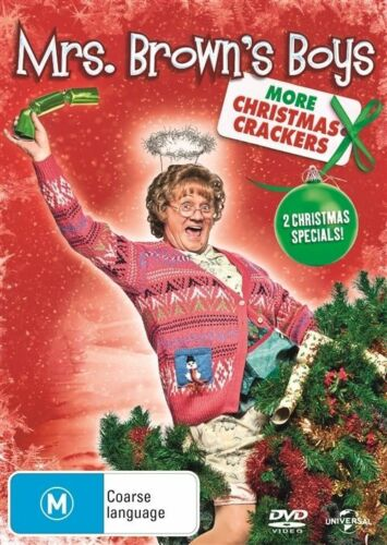 1 of 1 - Mrs. Brown's Boys - More Christmas Crackers (DVD, 2014) NEW R4