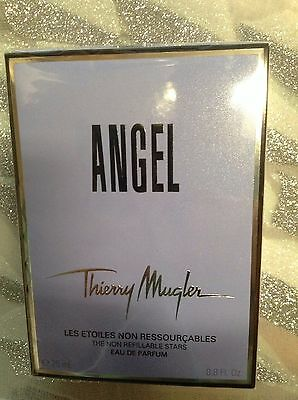 6e0a1f797 NIB ANGEL By Thierry Mugler 0.8 oz 25 ml Non Refill Women Perfume EDP Spray